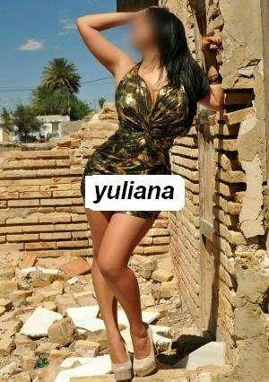 Yuliana (extrangera)hermosa trigueña
